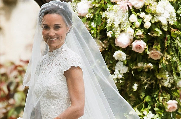 Pippa Middleton Wedding Dress And Veil