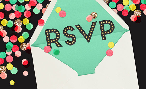 Party Planning Mistakes - Forgetting RSVP