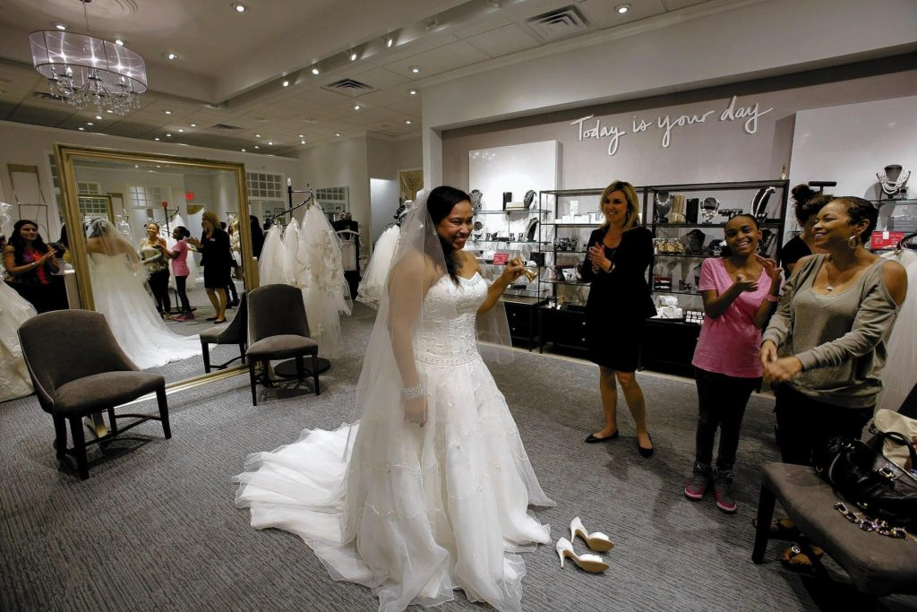 budgeting - wedding dress shopping