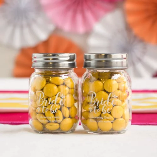 Wedding Favors - Customized Mason Jar