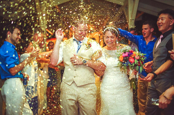 Wedding Venues - Don't Allow - Glitter Toss