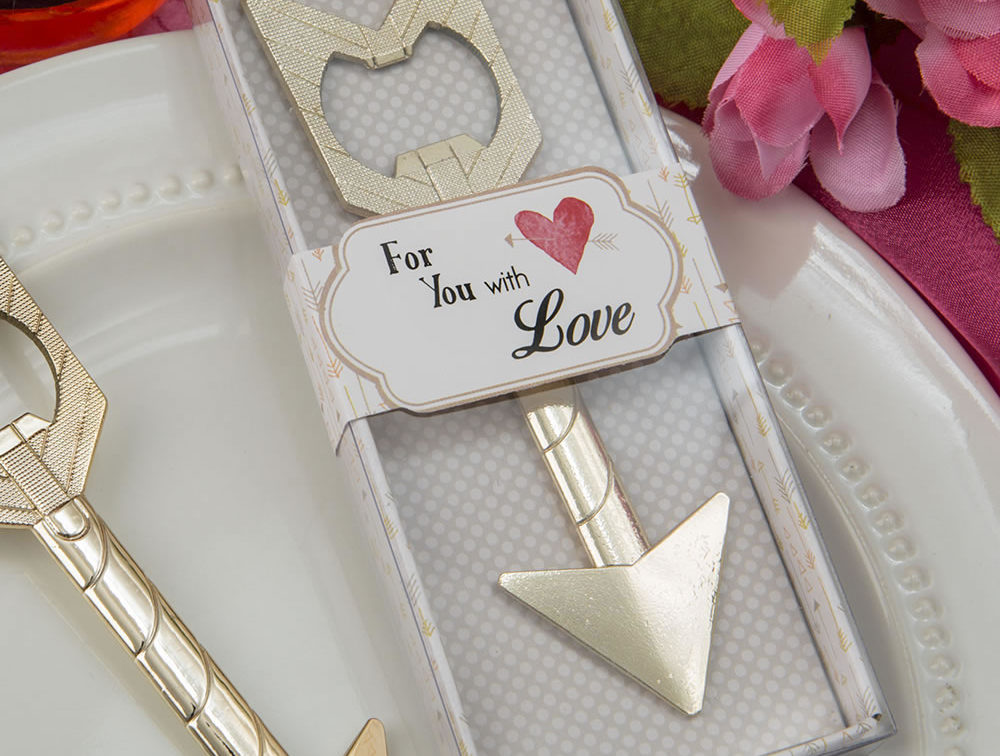Wedding Favors - Arrow Bottle Opener
