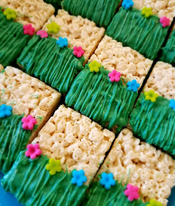 Party Theme Ideas - Rice Krispie Treat Luau